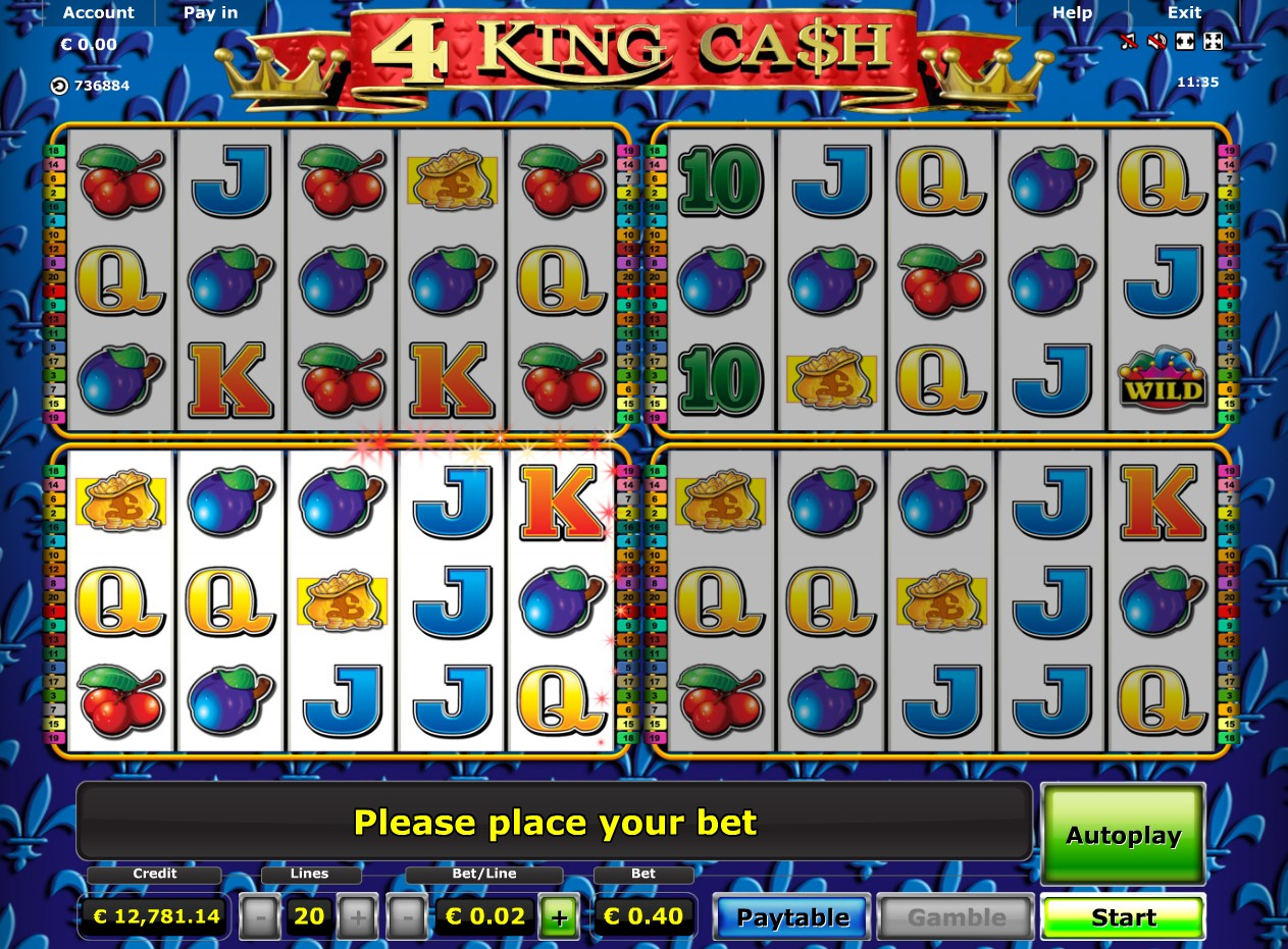king of cash casino